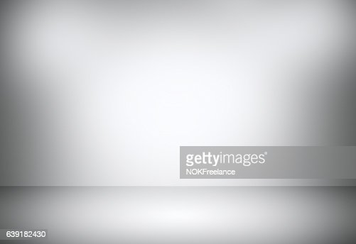 Grey gradient abstract background / gray room studio background. : Stock Photo