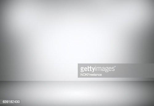 Grey gradient abstract background / gray room studio background. : Foto de stock