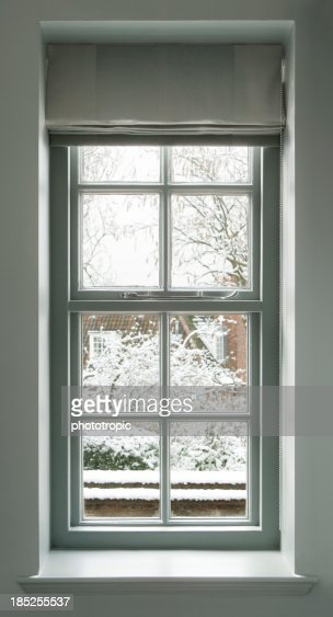 grey green window