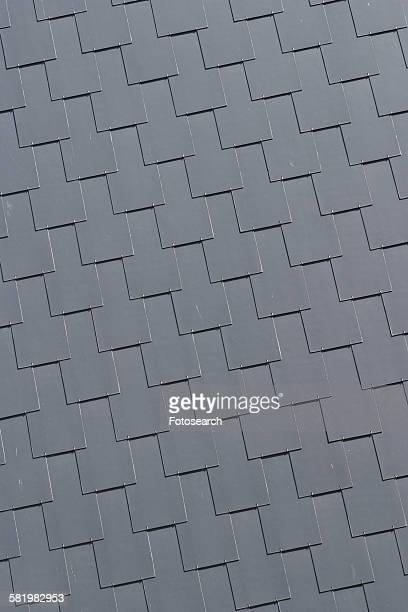 Grey metal surface