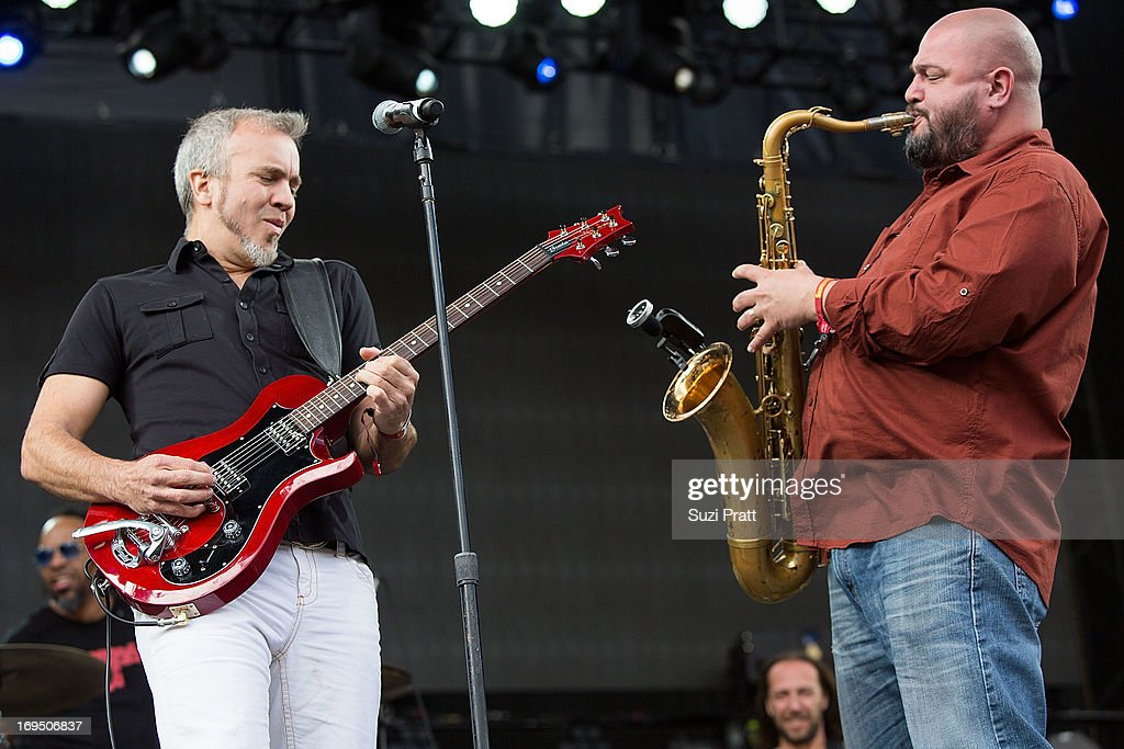 JJ Grey & Mofro performs live at the Sasquatch Music Festival at The Gorge on May 25, 2013 in George, Washington.