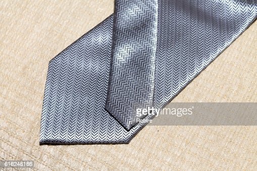 Grey Necktie : Foto stock