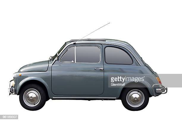 Grey oldtimer (with clipping path)