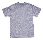 Grey round necked t-shirt
