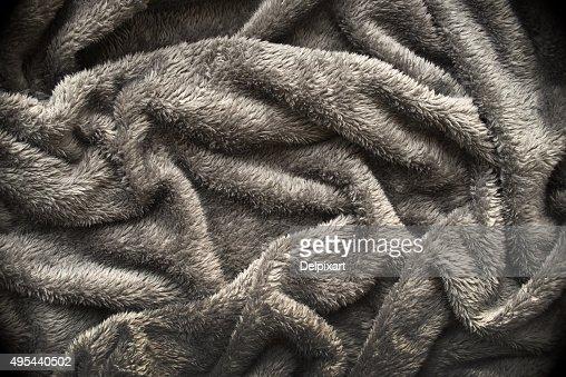 Grey Soft Blanket Texture Background Stock Photo Thinkstock