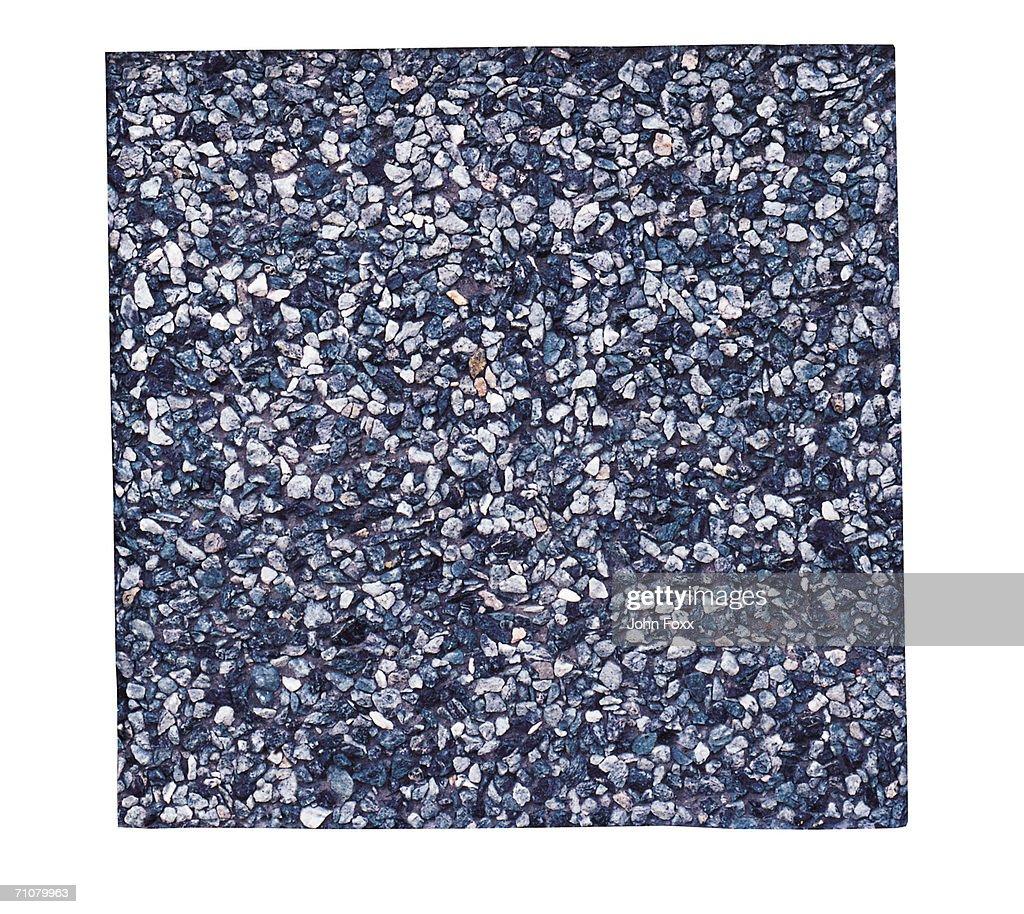 Grey tile, full frame : Stock Photo