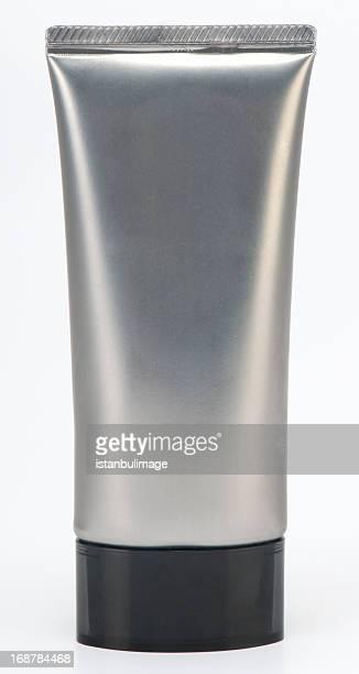 Provetta con tappo grigio