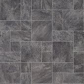 Grey Stone Tile Effect Vinyl Flooring Texture