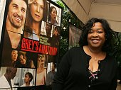 Grey's Anatomy show creator/Executive Producer Shonda Rhimes arrives at the AFI Awards Luncheon 2005 held at the the Four Seasons Hotel on January 13...