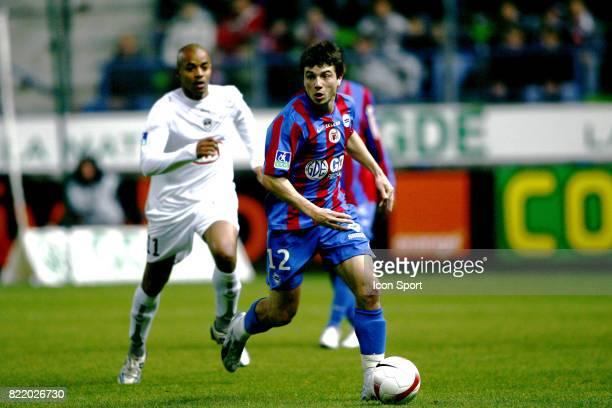 GrΘgory PROMENT caen / Bordeaux Ligue1 2007 / 2008