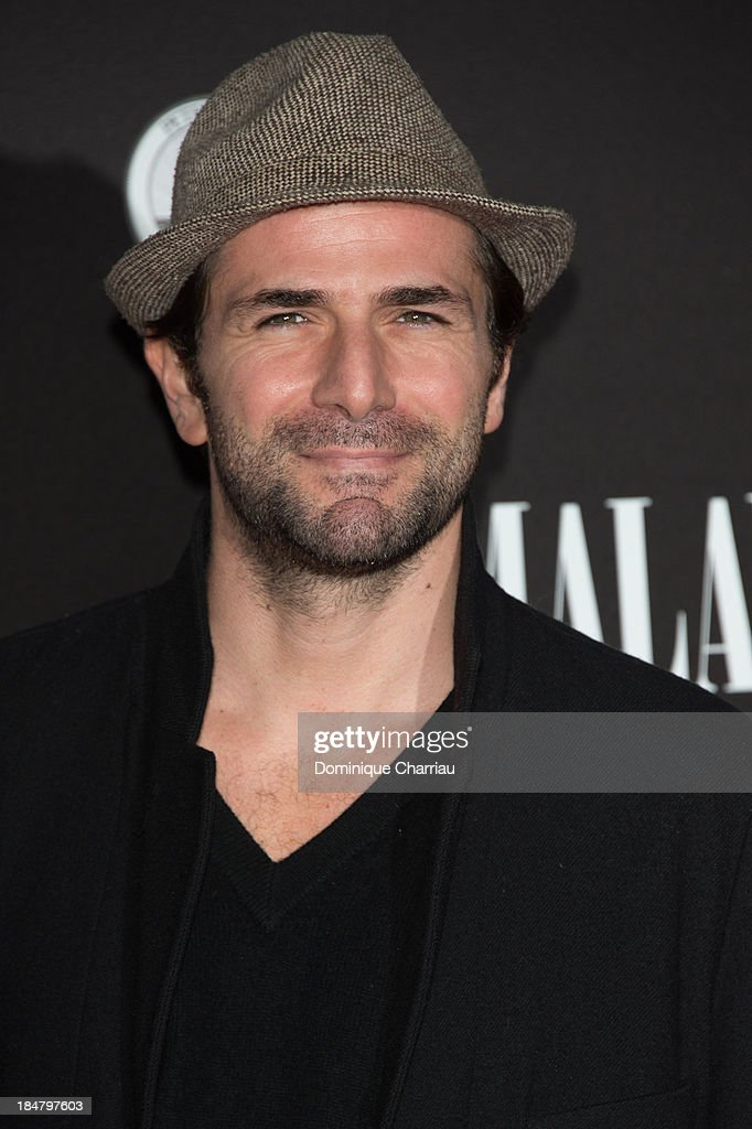 Grégory Questel attends the 'Malavita' premiere at Europacorp Cinema on October 16, 2013 in Roissy-en-France, France.