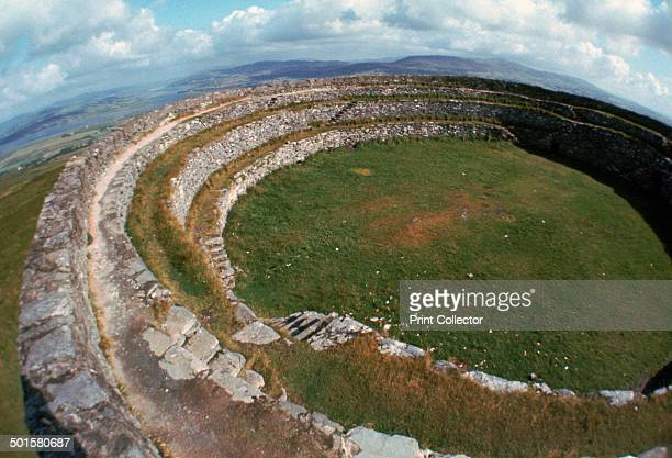 Grianan of Aileach Hillfort in County Donegal in Ireland 6th7th century