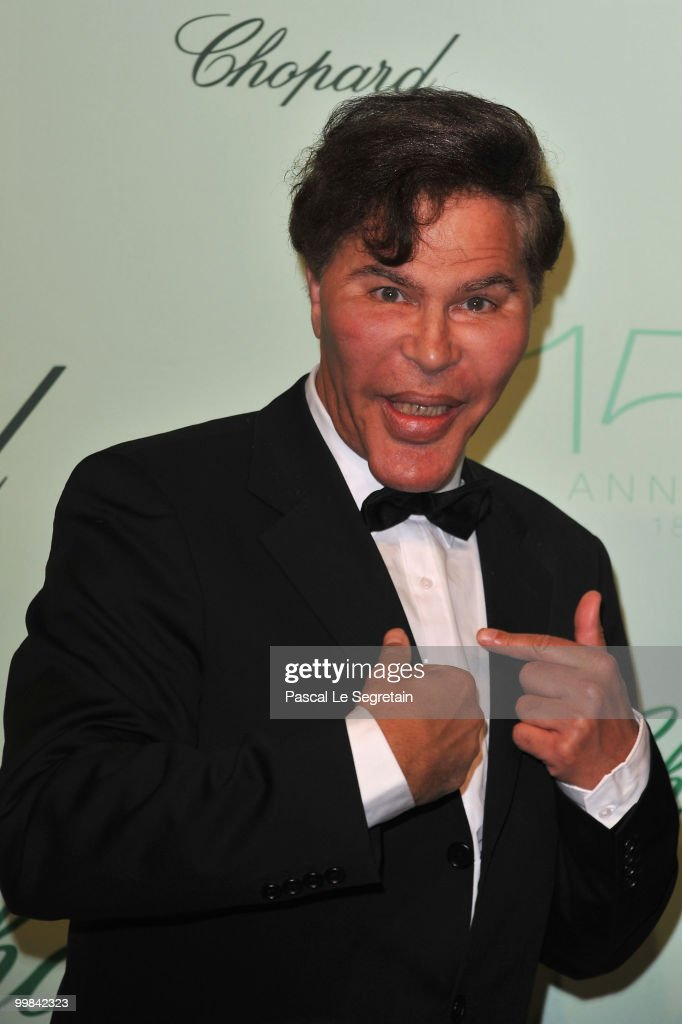 Grichka Bogdanoff attends the Chopard 150th Anniversary Party at Palm Beach, Pointe Croisette during the 63rd Annual Cannes Film Festival on May 17, 2010 in Cannes, France.