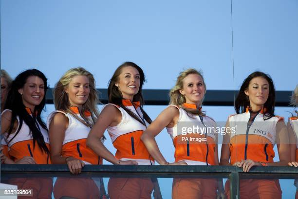 Grid Girls during the Australian Grand Prix at Albert Park Melbourne Australia
