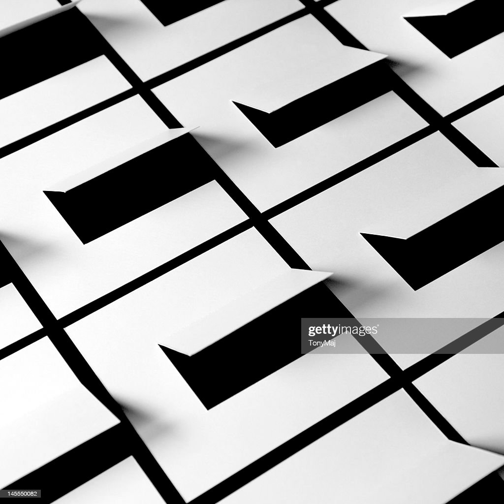 Grid of square : Stock Photo