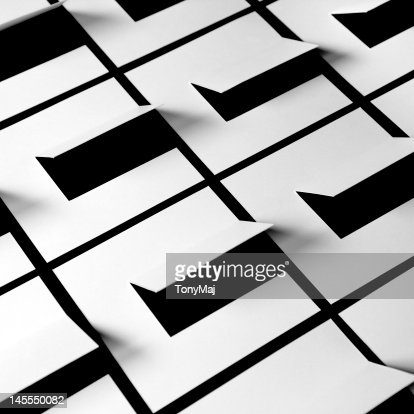 Grid of square : Stockfoto