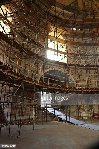Griechenland Rotunde in Thessaloniki Rotonda des Kaisers Galerius heute Museum Innenansicht der Kuppel