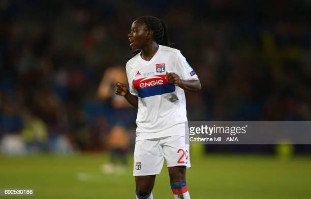 Griedge M'u2019bock Bathy of Olympique Lyonnais during the UEFA Women's Champions League Final match between Lyon and Paris Saint Germain at Cardiff...