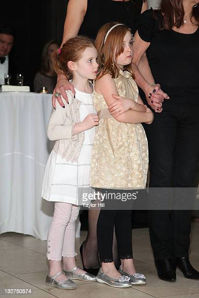 Grier Hammond Henchy and Rowan Francis Henchy attend a wedding at the 2011 Culture Project Producer's Weekend dinner at Guastavino's on November 13...