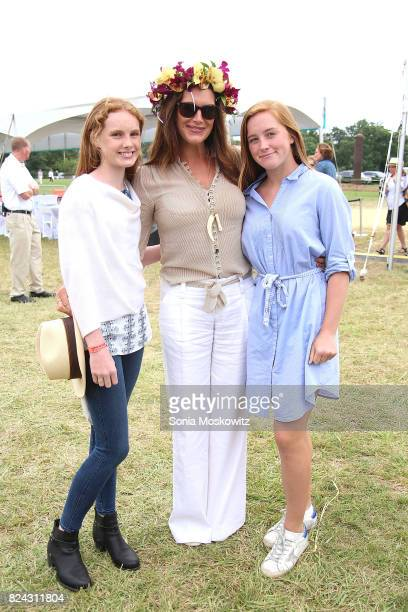 Grier Henchy Brooke Shields and Rowan Henchy attend the 20th Annual Super Saturday to benefit the Ovarian Cancer Research Fund Alliance at Nova's Ark...