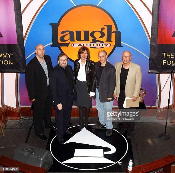 Griff Morris Phil Ramone Grammy Sr VP Kristen Madsen Hank Neuberger and Peter Bergman
