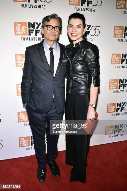 Griffin Dunne and Julianna Margulies attend a special screening of 'Joan Didion The Center Will Not Hold' during the 55th New York Film Festival at...