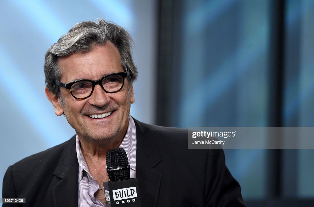 Griffin Dunne visits the Build series to discuss the film 'Joan Didion: The Center Will Not Hold' at Build Studio on October 20, 2017 in New York City.