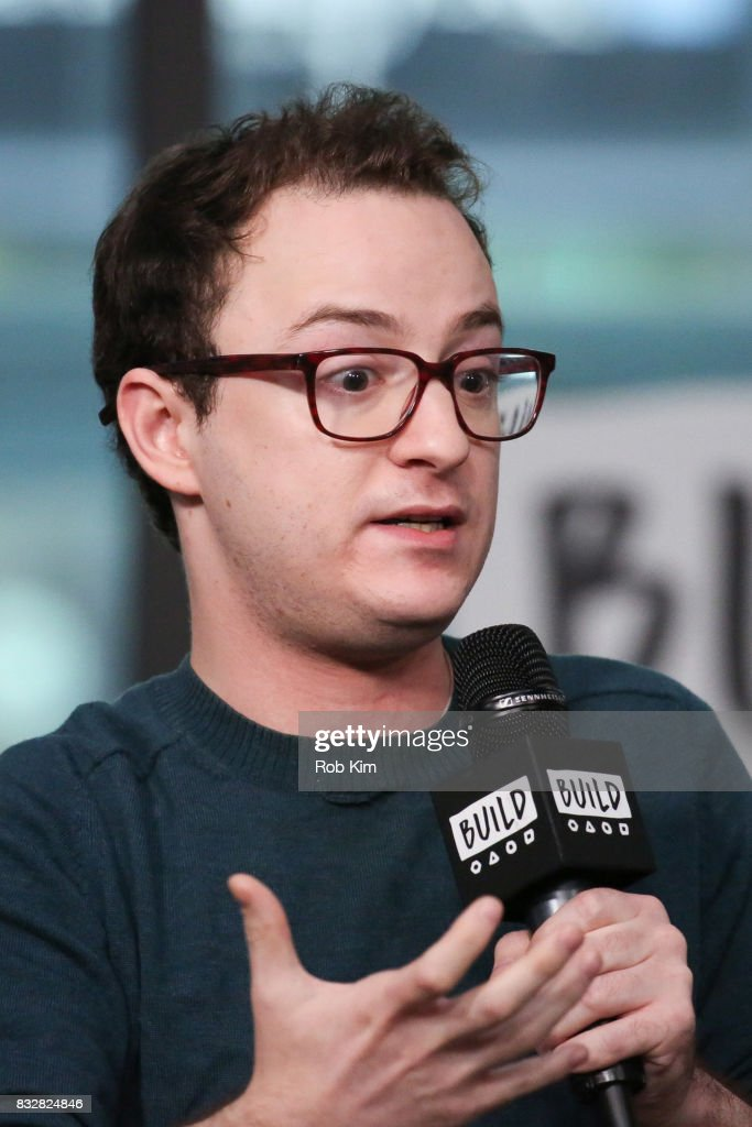 Griffin Newman of 'The Tick' visits at Build Studio on August 16, 2017 in New York City.