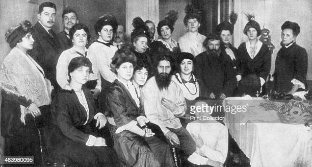 Grigori Rasputin and a group of women 1917 Rasputin was a monk and close confidant of the Russian Csarina