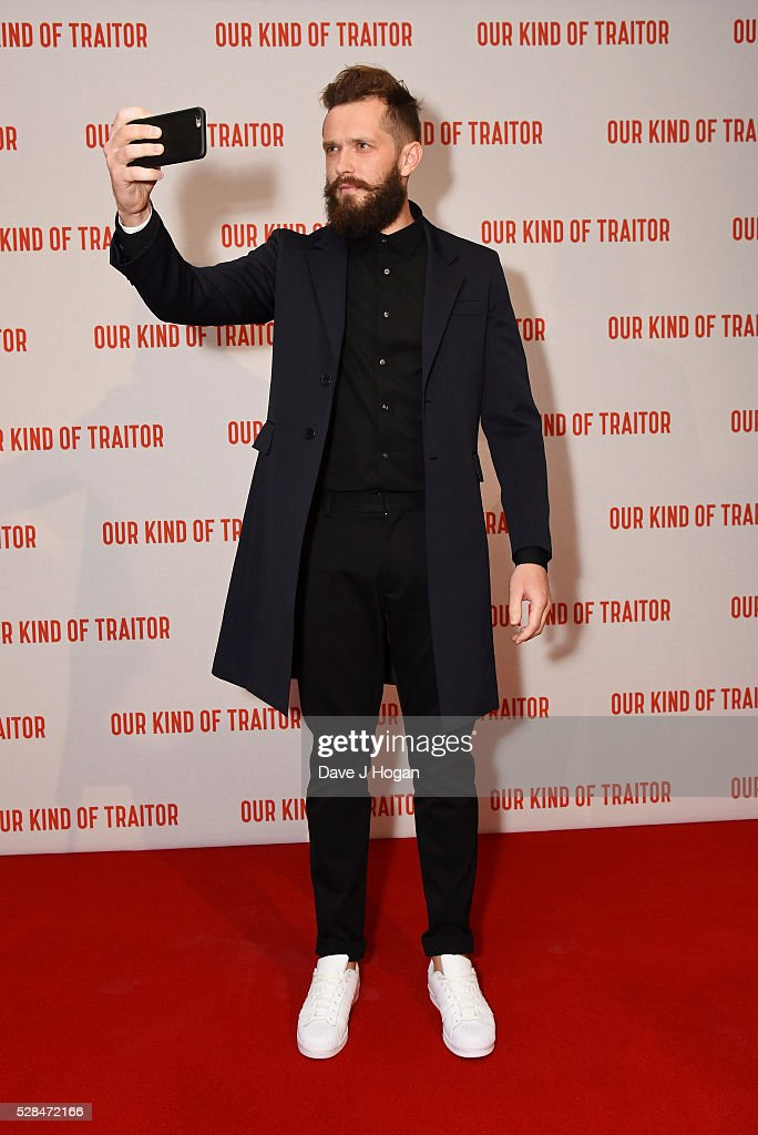 Grigoriy Dobrygin arrives for the UK Gala Screening of 'Our Kind Of Traitor' at The Curzon Mayfair on May 5, 2016 in London, England.