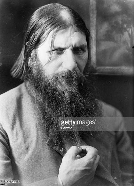 Grigory yefimovich rasputin spiritual advisor to tsarina alexandra assassinated in 1916 by members of the russian royal court russia