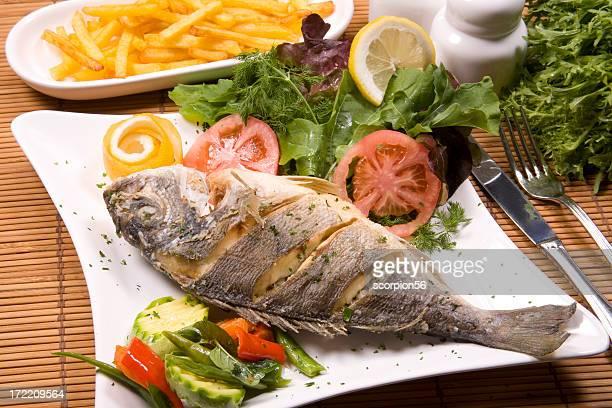 grill, Fisch