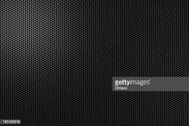 Grill texture background in shadows