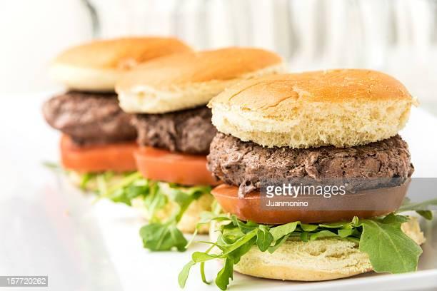 Grilled Beef Mini burgers