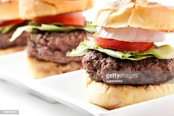 Grilled Burger Mini burgers