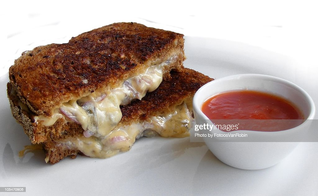 Grilled Cheese Sandwich : Stock Photo