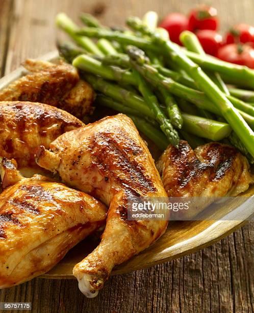 Grill Barbecue Chicken