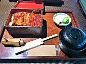 Grilled eels box in Japan