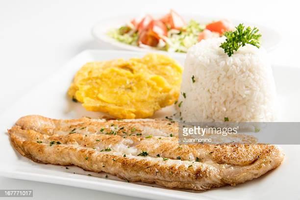 Filet de poisson grillé