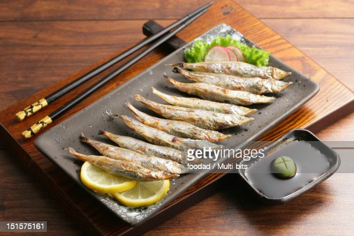Grilled fish : Foto de stock