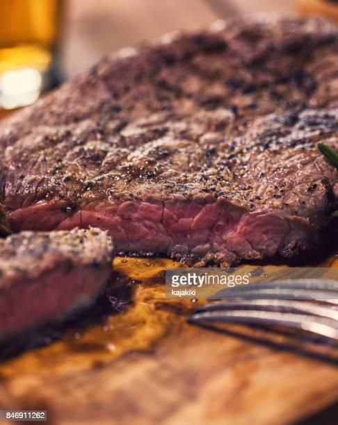 Grilled Juicy Beef Steak