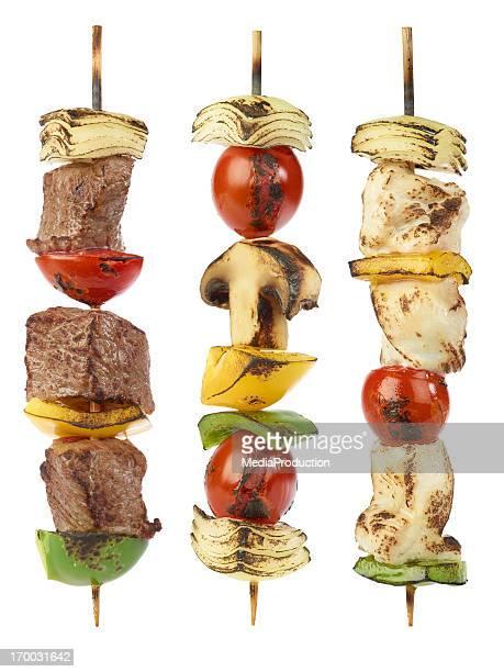 Gegrilltes kebabs