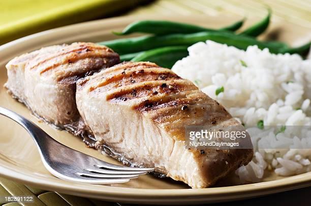 Gegrilltes Mahi-Mahi-Fisch