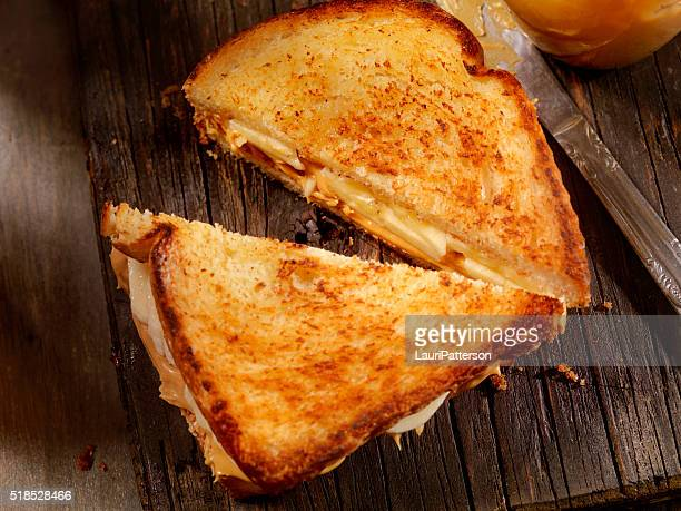 Grilled Peanut Butter and Banana Sandwich