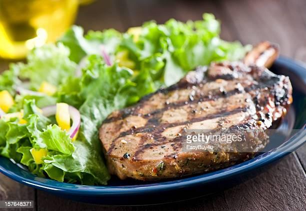 Gegrilltes Schweinefleisch Lende chop