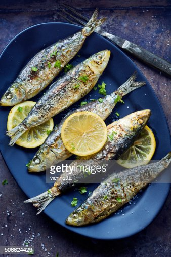 Grilled Portuguese Sardines with Salt, Herbs and Lemon