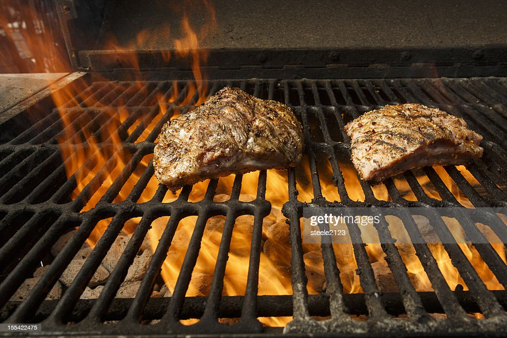 Grilled Ribs : Stock Photo