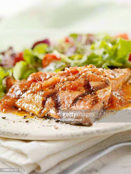BBQ Grilled Salmon Fillet