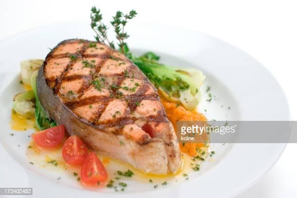Saumon grillé Steak House