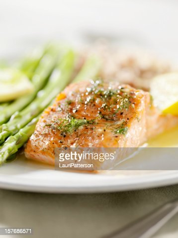 Grilled Salmon with Fresh Dill